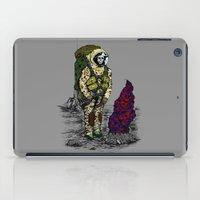 spaceman iPad Cases featuring Spaceman by Mihail.Kosarenin