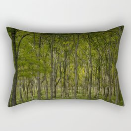 Indiana Tree Farm Rectangular Pillow