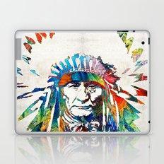 Native American Art - Chief - By Sharon Cummings Laptop & iPad Skin