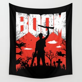 This... is my BOOMSTICK! Wall Tapestry