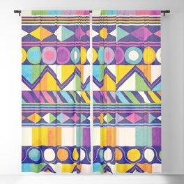 Texture and Colour 1 Blackout Curtain