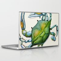 crab Laptop & iPad Skins featuring Crab by Dylan Morang