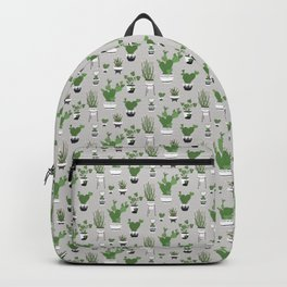 Cactus Love (in gray) Backpack