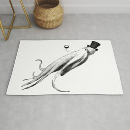 Vincent the Sophisticated Octopus Rug