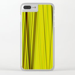 Deep in the jungle Clear iPhone Case