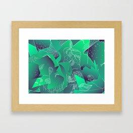 Viridian Framed Art Print