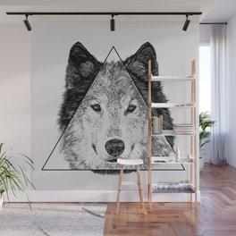 Trinity Wolf Wall Mural