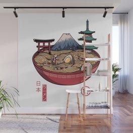 A Japanese Ramen Wall Mural