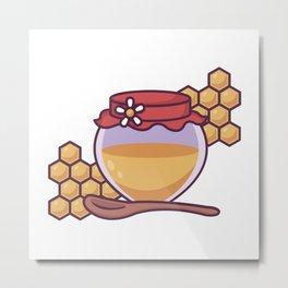 Honey Pot Metal Print