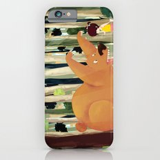 Meeting with Teddy Bear Slim Case iPhone 6s