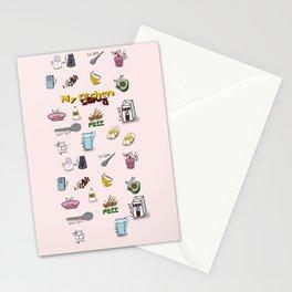 My kitchen story Stationery Cards