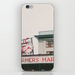 Pikes Place- Seattle iPhone Skin