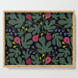 FIGS green Serving Tray