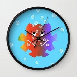 Nursery Fish Wall Clock