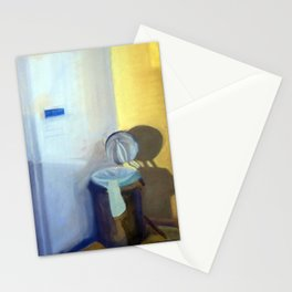 Portrait of a Trashcan Stationery Cards