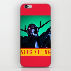 sieg zeong iPhone & iPod Skin