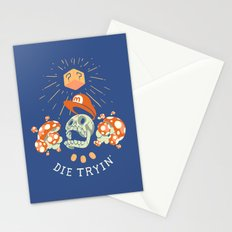 Die Tryin' Stationery Cards