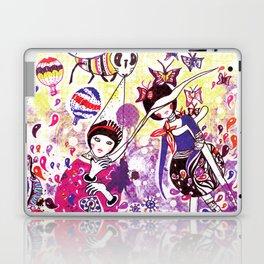 The case of purple spot sickness Laptop & iPad Skin