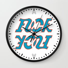 FU Wall Clock