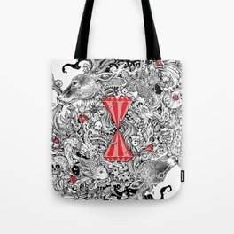 10 of Diamonds Tote Bag