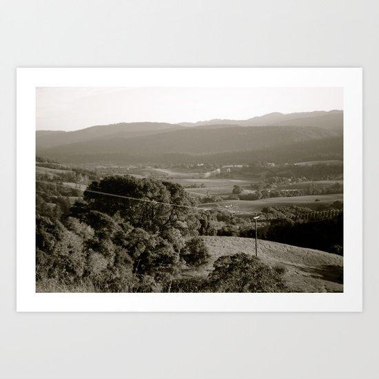 Anderson Valley Art Print