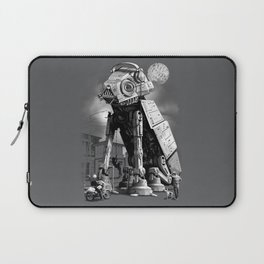WELCOME TO TOWN Laptop Sleeve