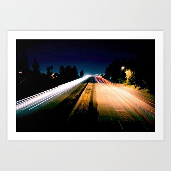 Lightspeed Art Print
