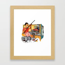 Feminism  Framed Art Print