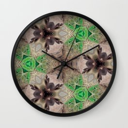 Mix of Mutated Patterns Var. 6 Wall Clock