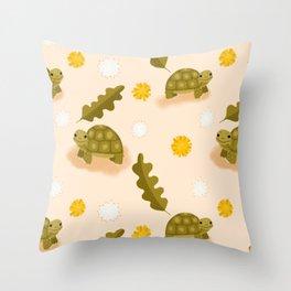 Dandy Tort Throw Pillow