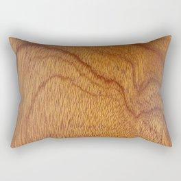I Feel Woody, Oh So Woody (Wood Grain-Man Cave) Rectangular Pillow