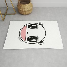 Ecstatic Happy Face Rug