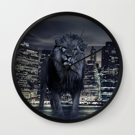 King of the City Wall Clock