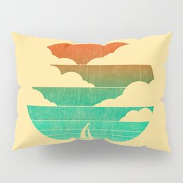 Go West (sail away in my boat) Pillow Sham