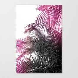 pink and gray Canvas Print