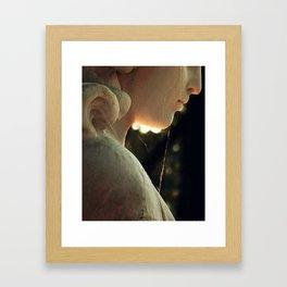Webbed Angel Framed Art Print