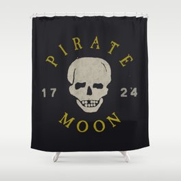 Pirate Moon Shower Curtain