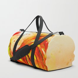 Rooster Painting Duffle Bag