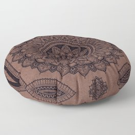 Mandala on Masonite I Floor Pillow