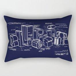 Blueprint Rectangular Pillow