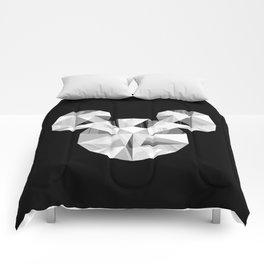 Silver Pop Crystal Comforters