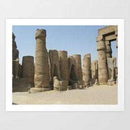 Temple of Luxor, no. 5 Art Print