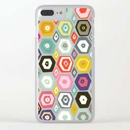 hex summer Clear iPhone Case