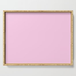 color for Beached Mermaid (#FFCCEA-cotton candy) Serving Tray