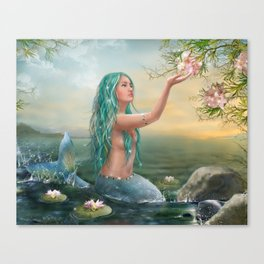 Marine Mermaid Canvas Print