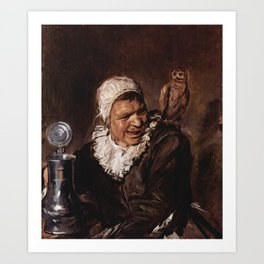Babbe from Frans Hals Art Print
