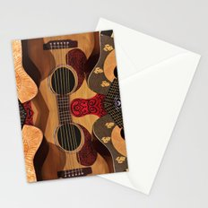 Guitar Reflections Stationery Cards
