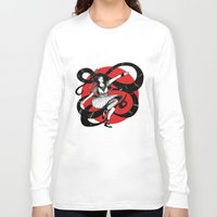 dancing Long Sleeve T-shirts featuring Dancing by Wivita