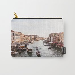 Venice Grand Canal views from Rialto Bridge Carry-All Pouch