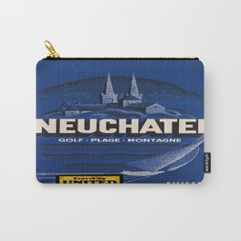 Vintage poster - Neuchatel Carry-All Pouch